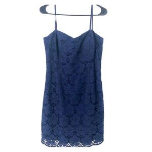 Lilly Pulitzer NWT MCcallum Navy Dress 10 Floral